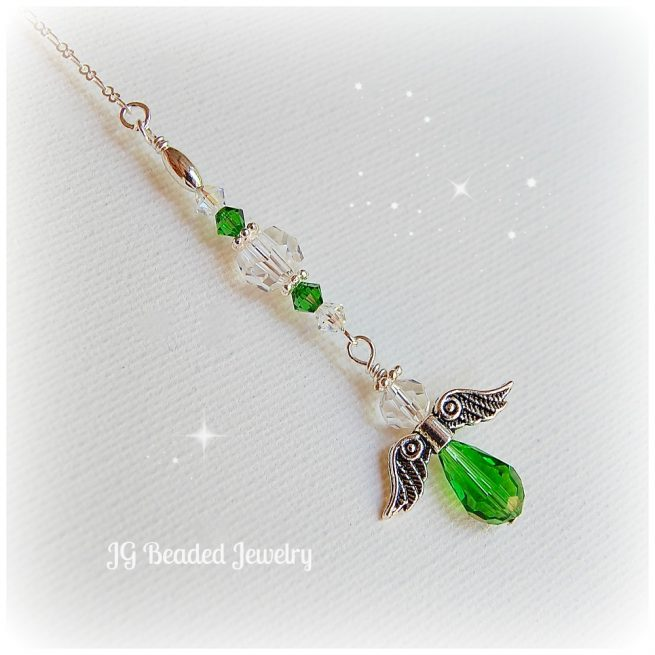 Green Angel Ornament