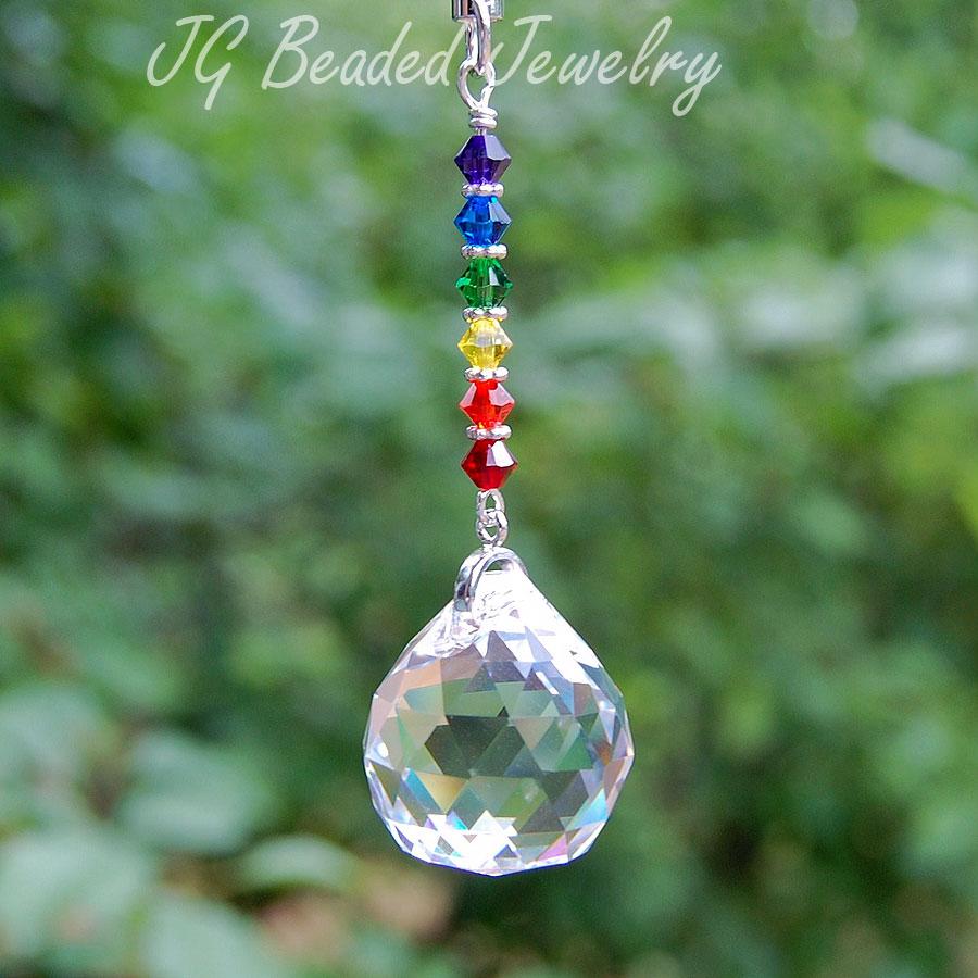 Small Rainbow Crystal