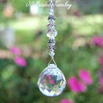 Hanging Crystal Ball Ornament