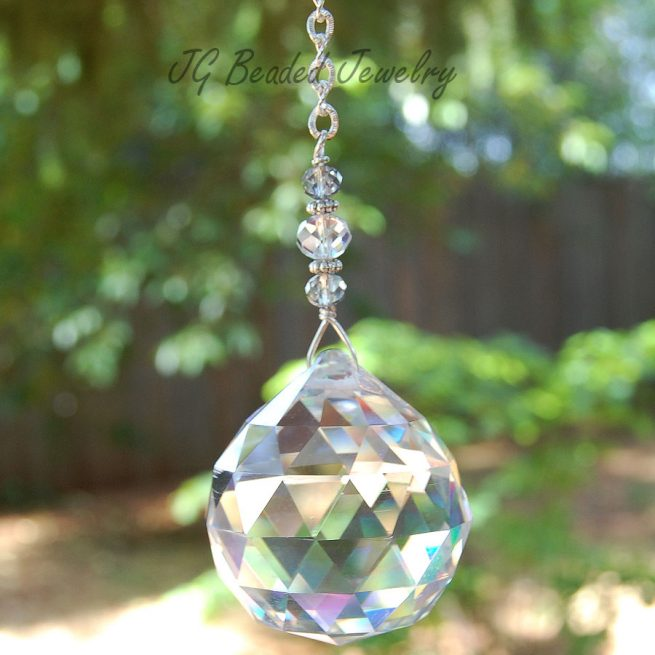 Crystal Suncatcher - 553