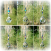 Color Changing Mood Prism Crystal Suncatcher