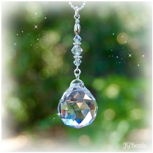 Hanging Prism Crystal