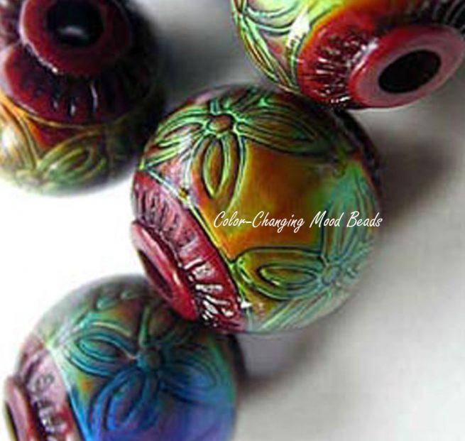 Round Mood Beads