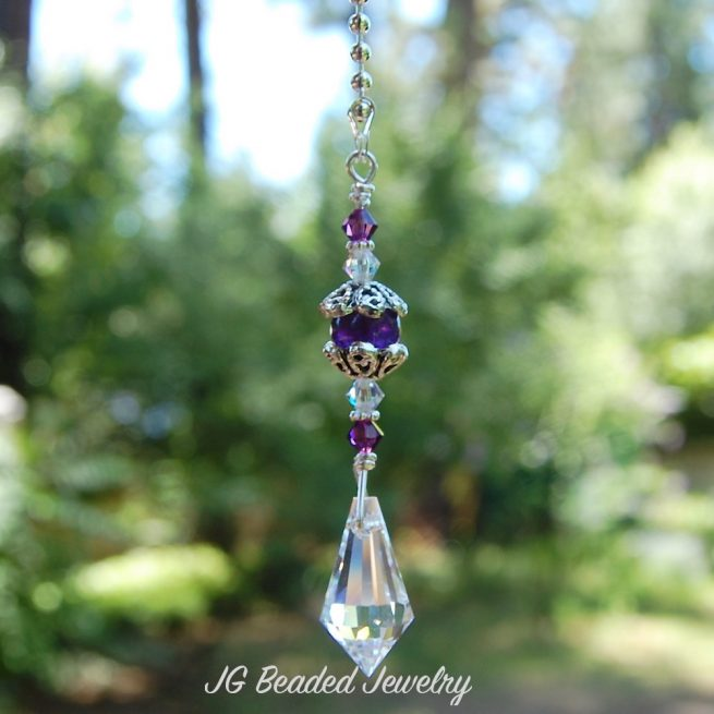 Amethyst Crystal Decoration