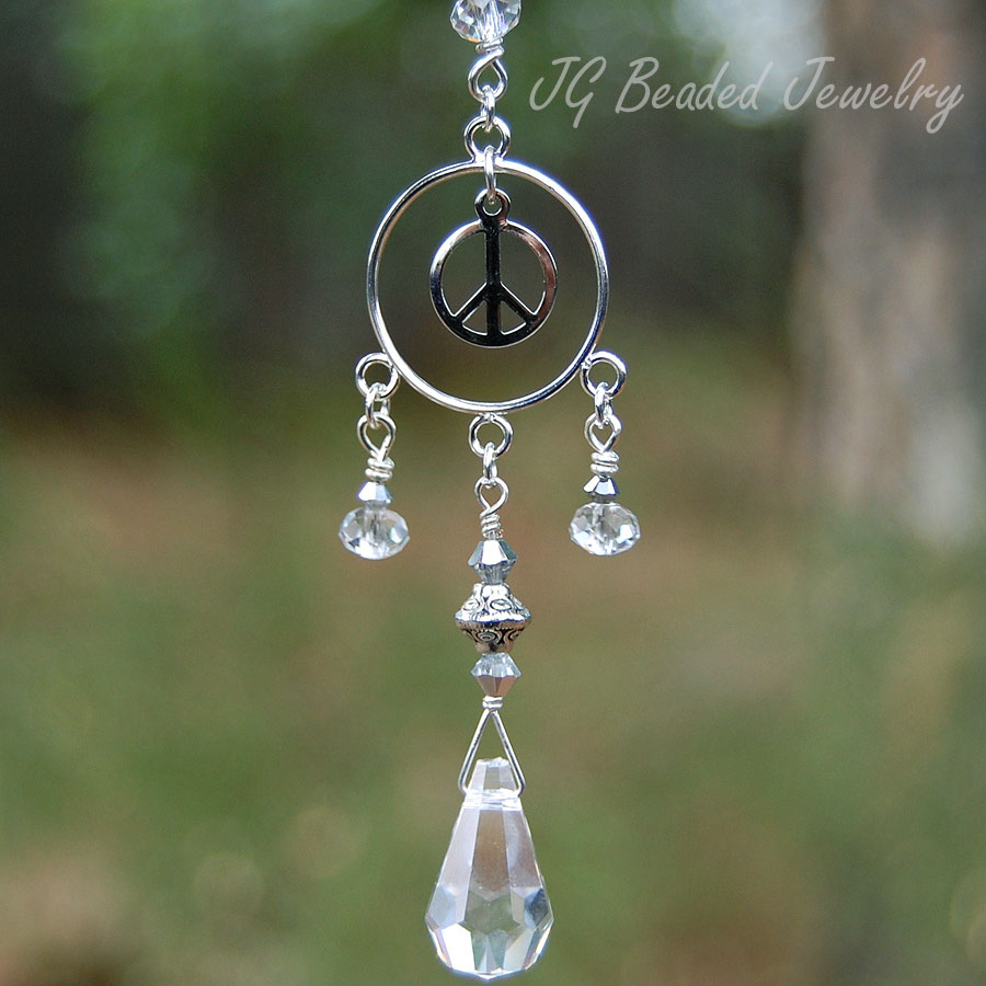 Peace Sign Suncatcher