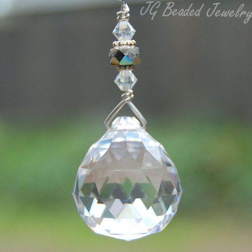 Hanging Prism Crystal Decoration