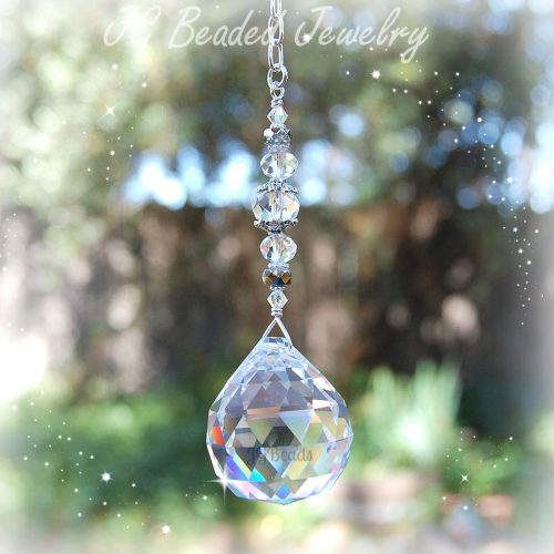 Clear Prism Crystal Suncatcher