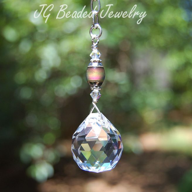 Mood Bead Hanging Crystal