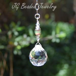 Mood Bead Hanging Crystal