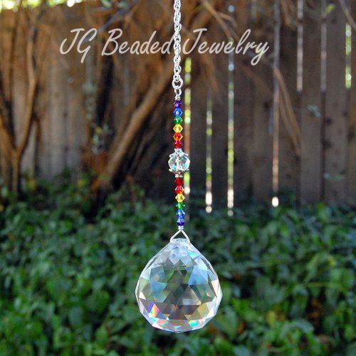 Swarovski Rainbow Crystal Suncatcher