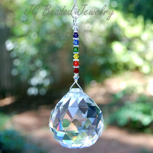 Rainbow Prism Crystal Suncatcher