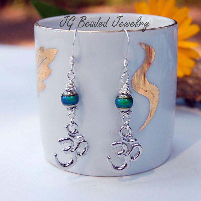 Om Symbol Mood Earrings