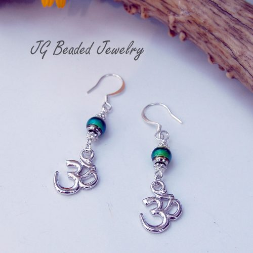 Om Symbol Mood Earrings