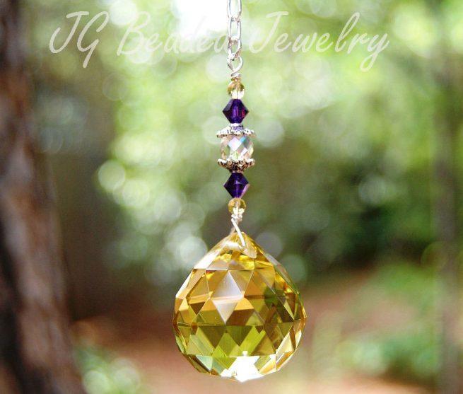 Gold Prism Crystal