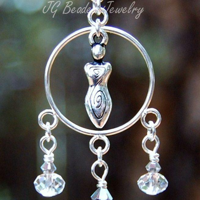 Spiral Goddess Window Decoration