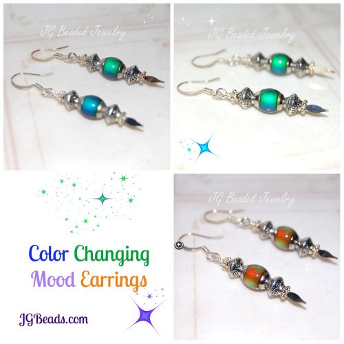 Beaded Mood Earrings