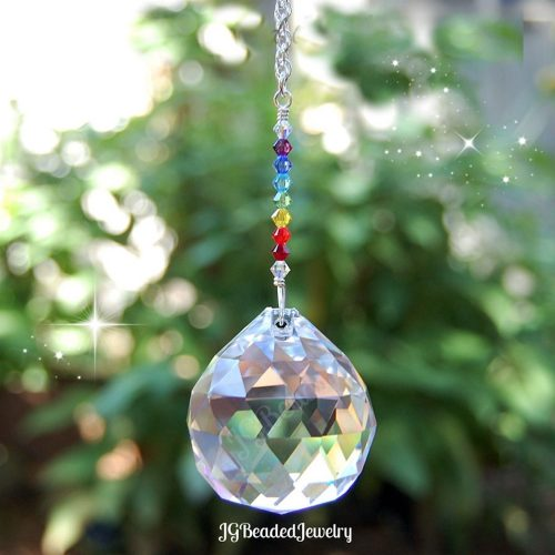 Crystal Rainbow Suncatcher Prism
