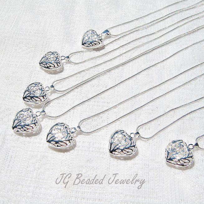 Filigree Heart Necklace