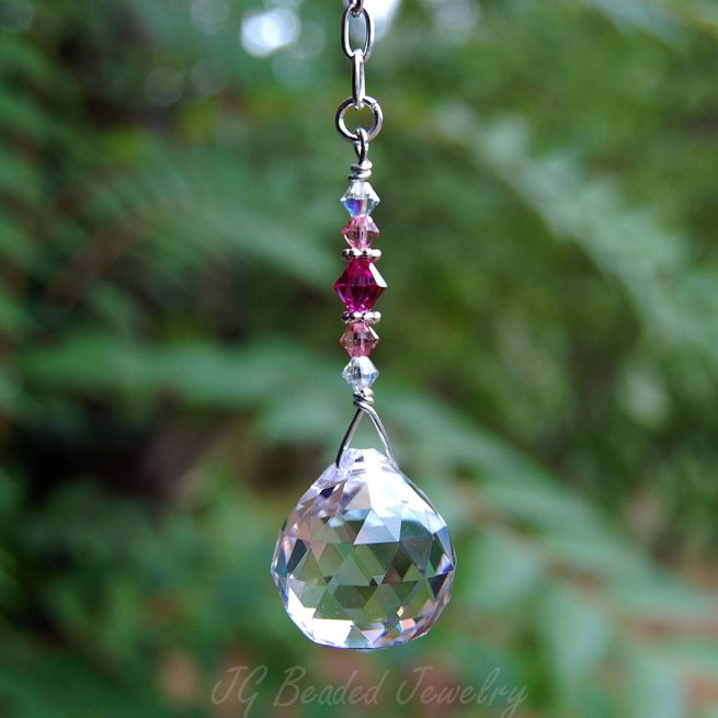 Pink Hanging Prism