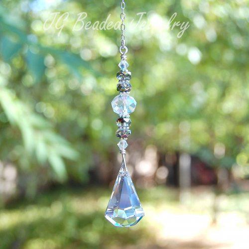 Swarovski Raindrop Crystal Prism