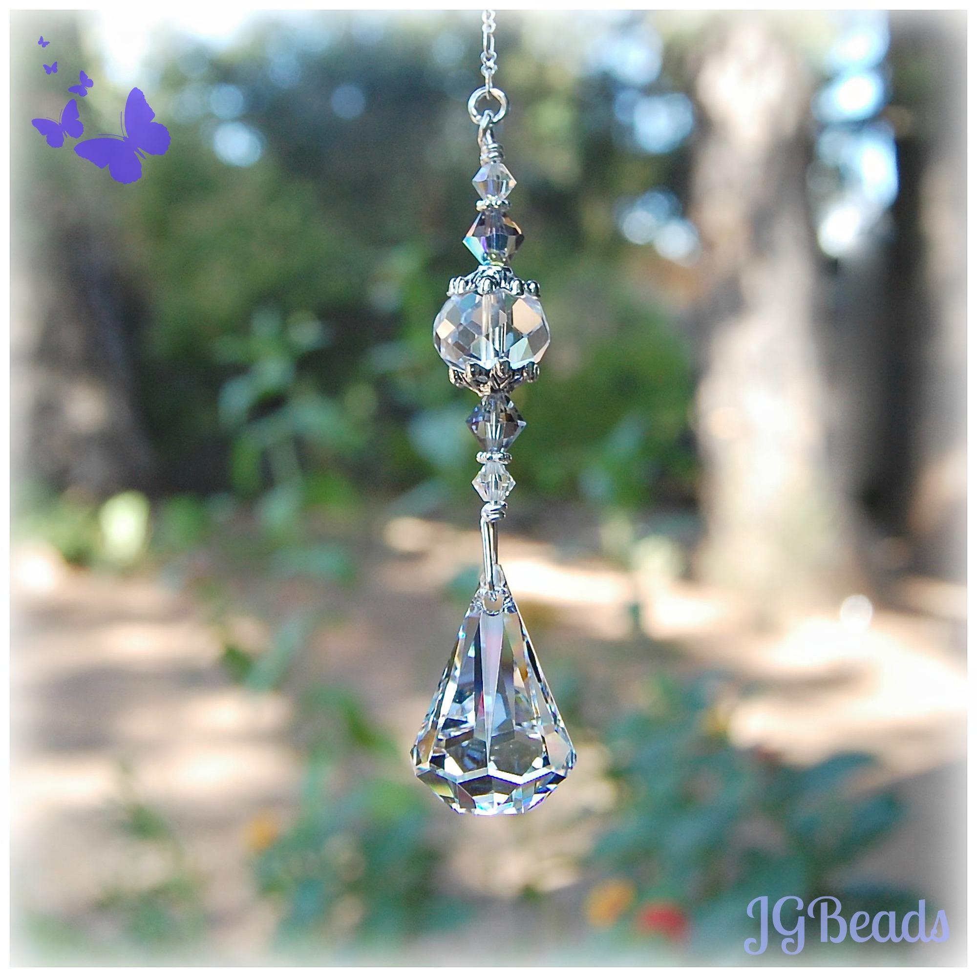 Teardrop Swarovski Crystal Jg Beads