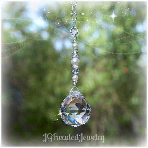 Swarovski Pearl Crystal Decoration