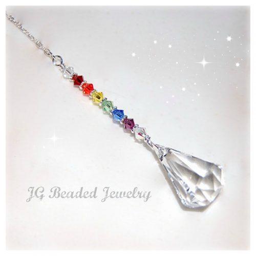 Swarovski Rainbow Crystal Raindrop