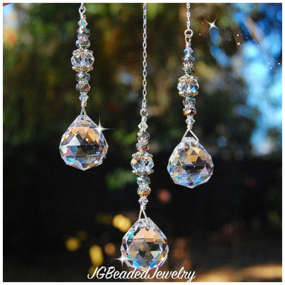 Hanging Crystal Prism Jg Beads