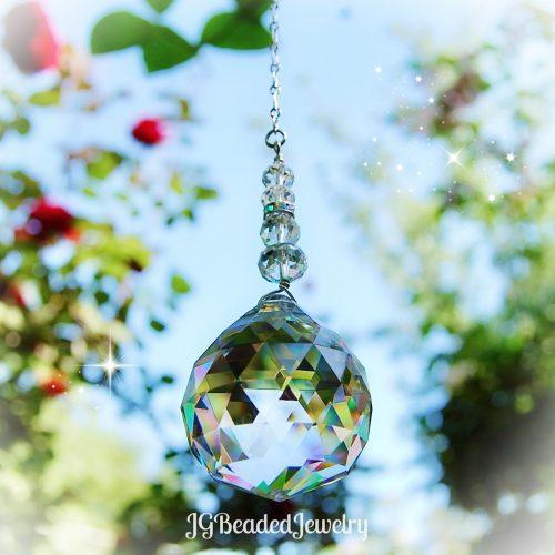 Window Crystal Suncatcher