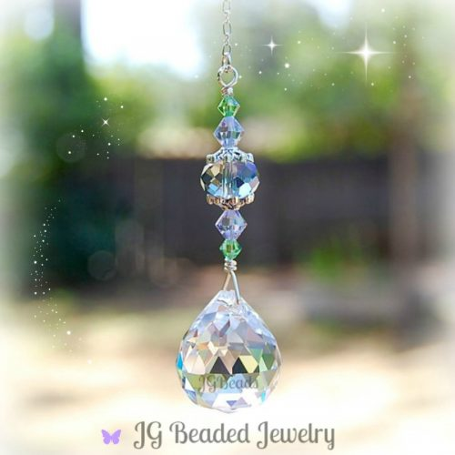 Crystal Prism Light Pull