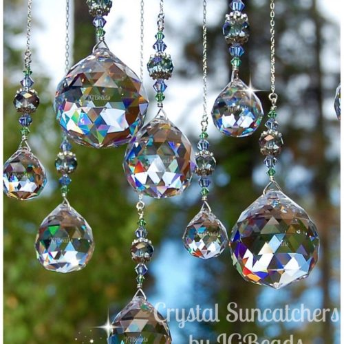 Hanging Crystal Prisms