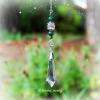 Malachite Crystal Teardrop