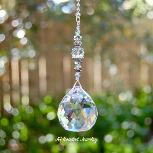 Pull Chain Crystal Ornament
