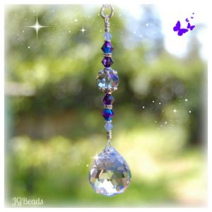 Rearview Mirror Hanging Crystal