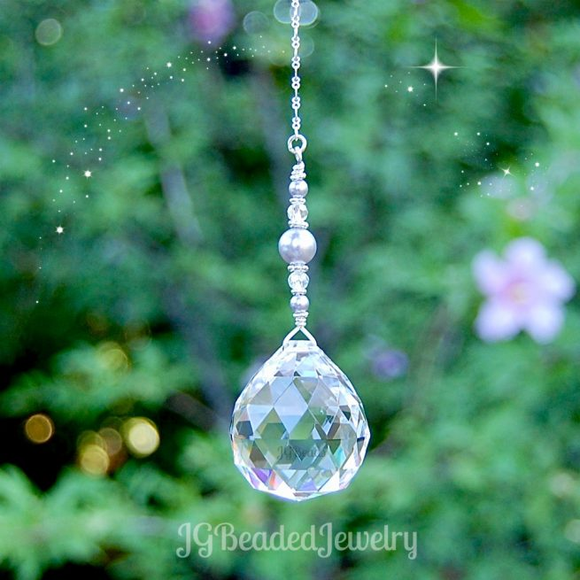 Lavender Pearl Suncatcher