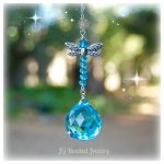 Blue Dragonfly Suncatcher