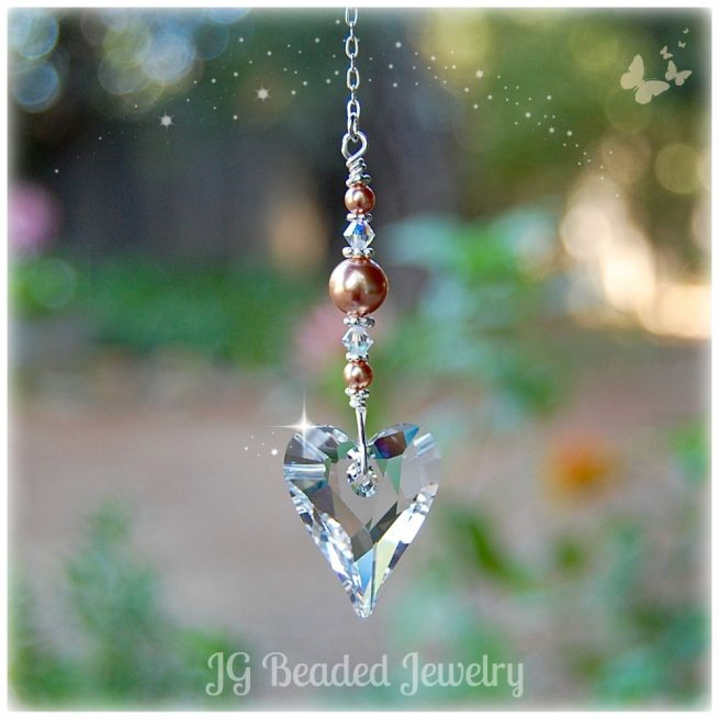 Heart of Gold SUncatcher