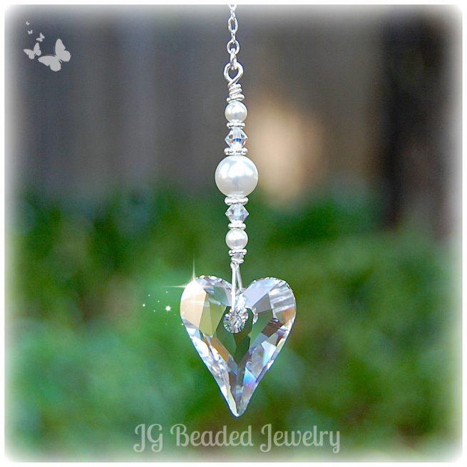 Swarovski Heart Crystal