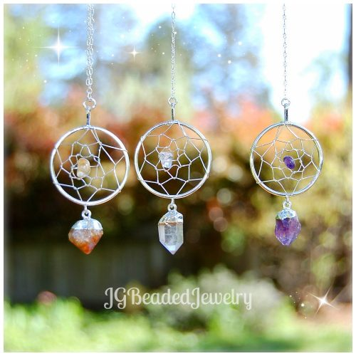 Crystal Dream Catcher