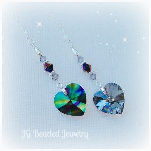 Rainbow Crystal Heart