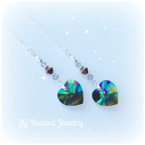 Rainbow Crystal Heart
