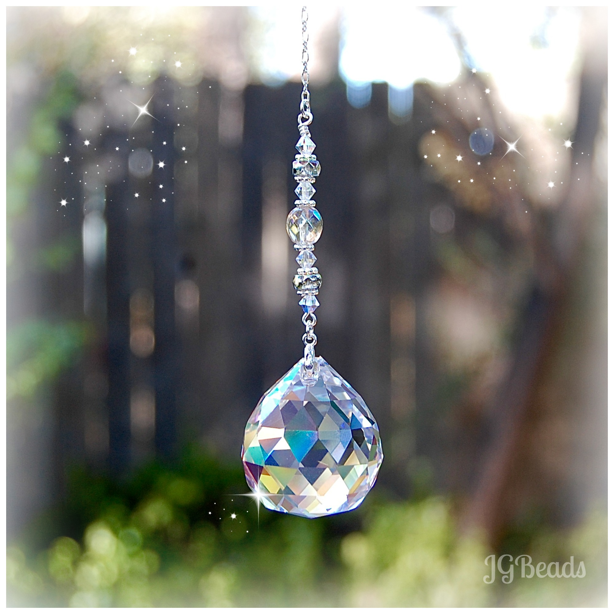 Hanging Crystal Sun Catcher