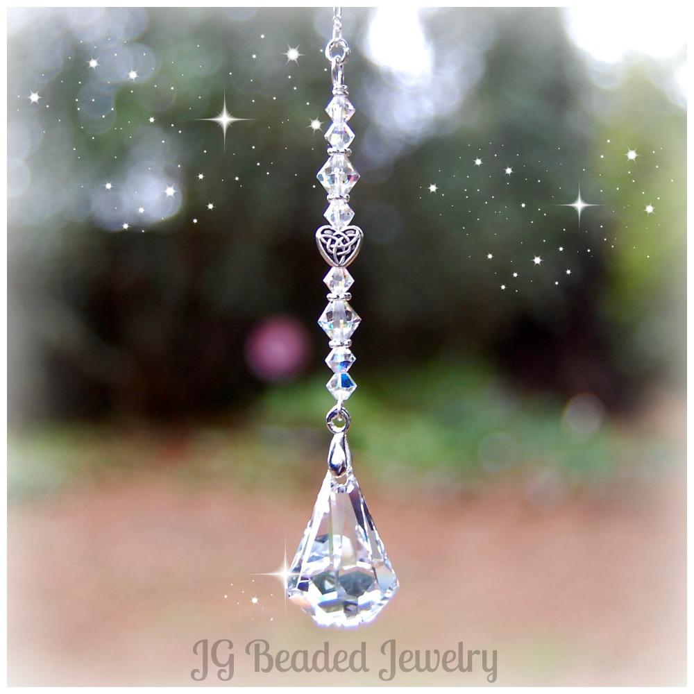Swarovski Crystal Raindrop