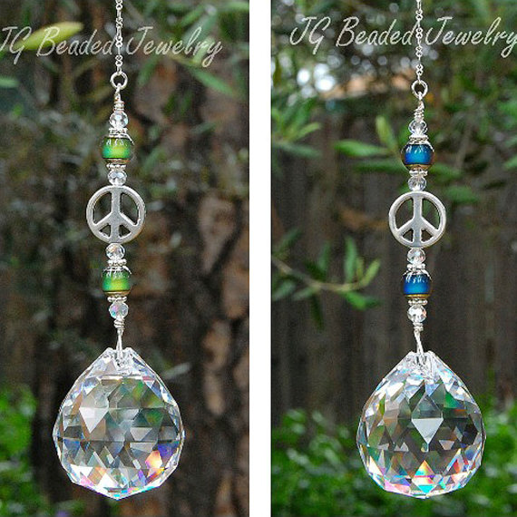 Mood Peace Suncatcher