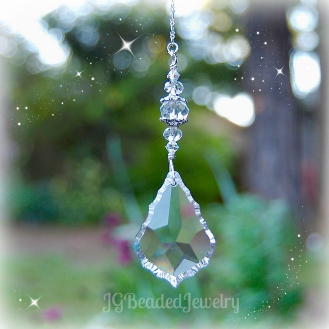 Teardrop Crystal Prism