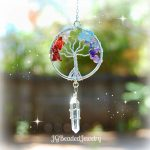 Gemstone Crystal Chakra Tree of Life