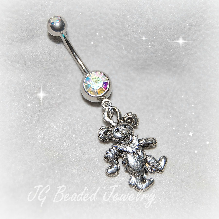 Dancing Bear Belly RIng