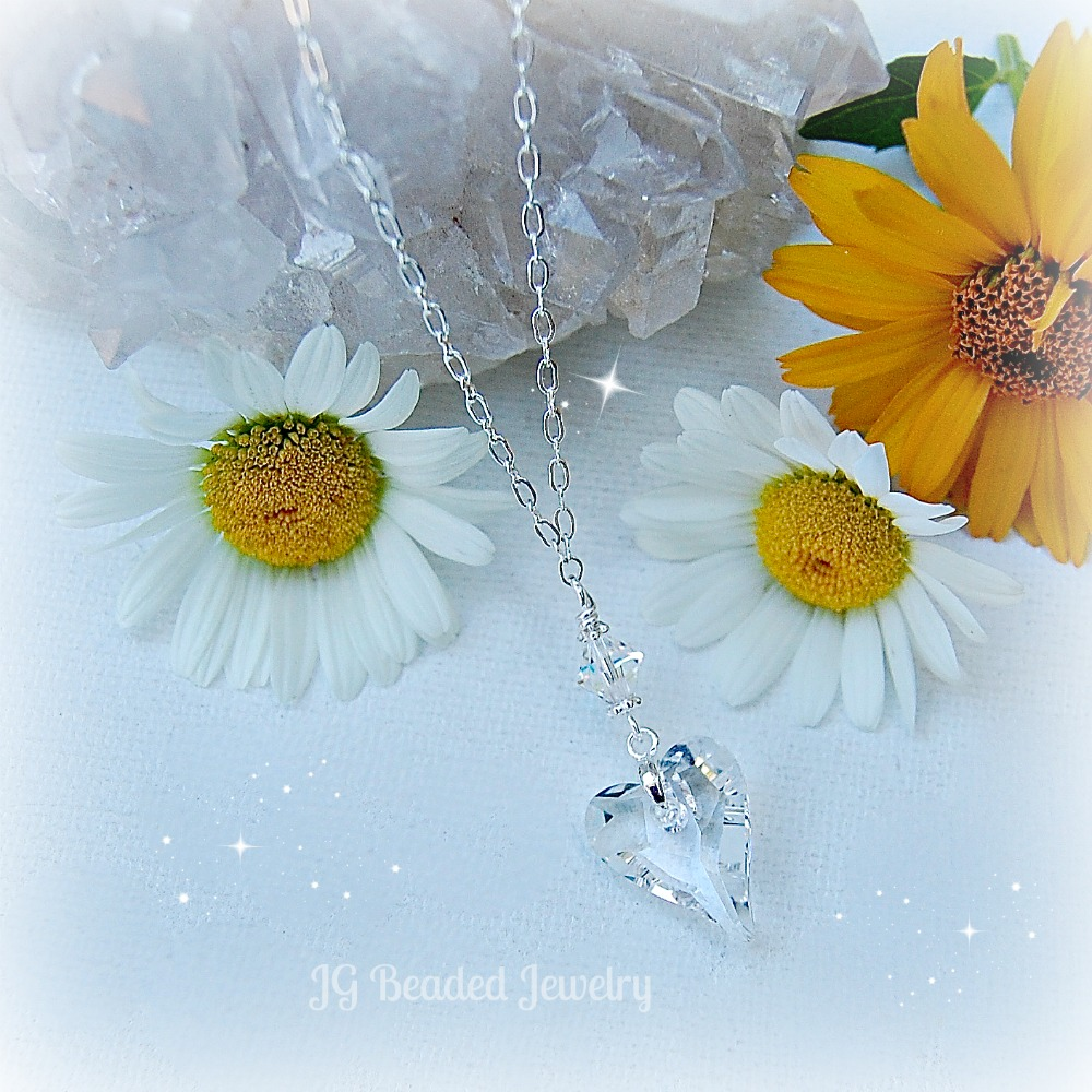 Swarovski Heart Crystal Necklace