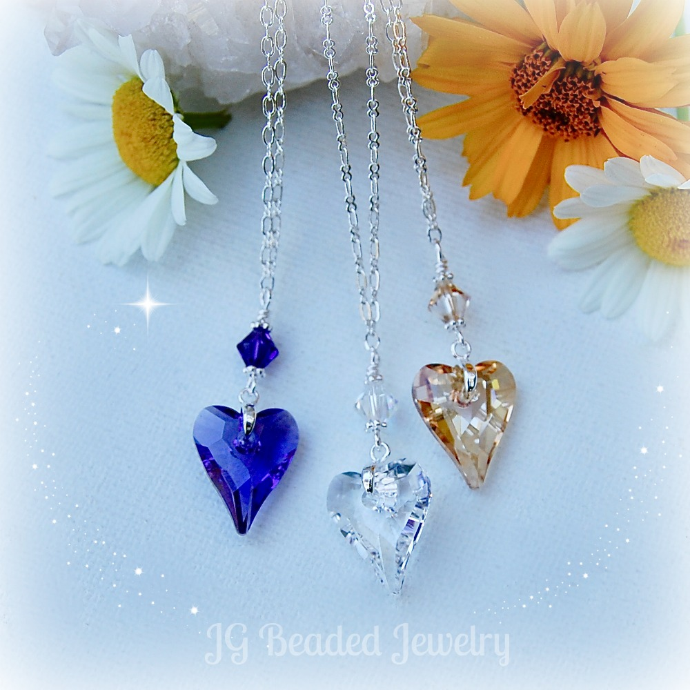 Giveaway Wild Heart Swarovski Crystal Necklaces