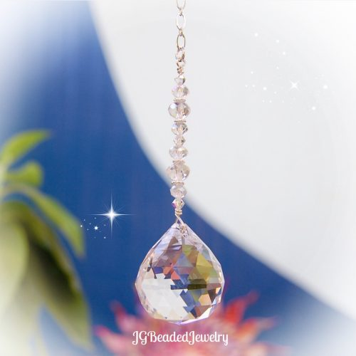 Crystal Suncatcher Hanging Prism